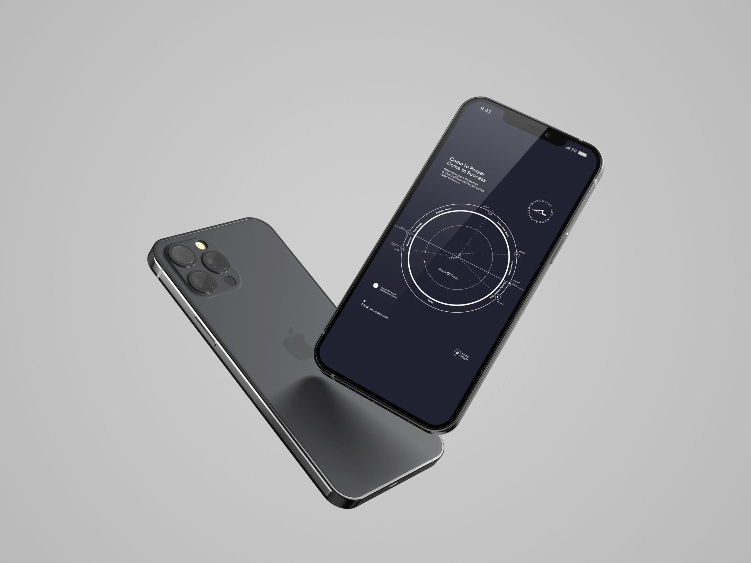 ProductiveDay_iPhone 12 Mockup